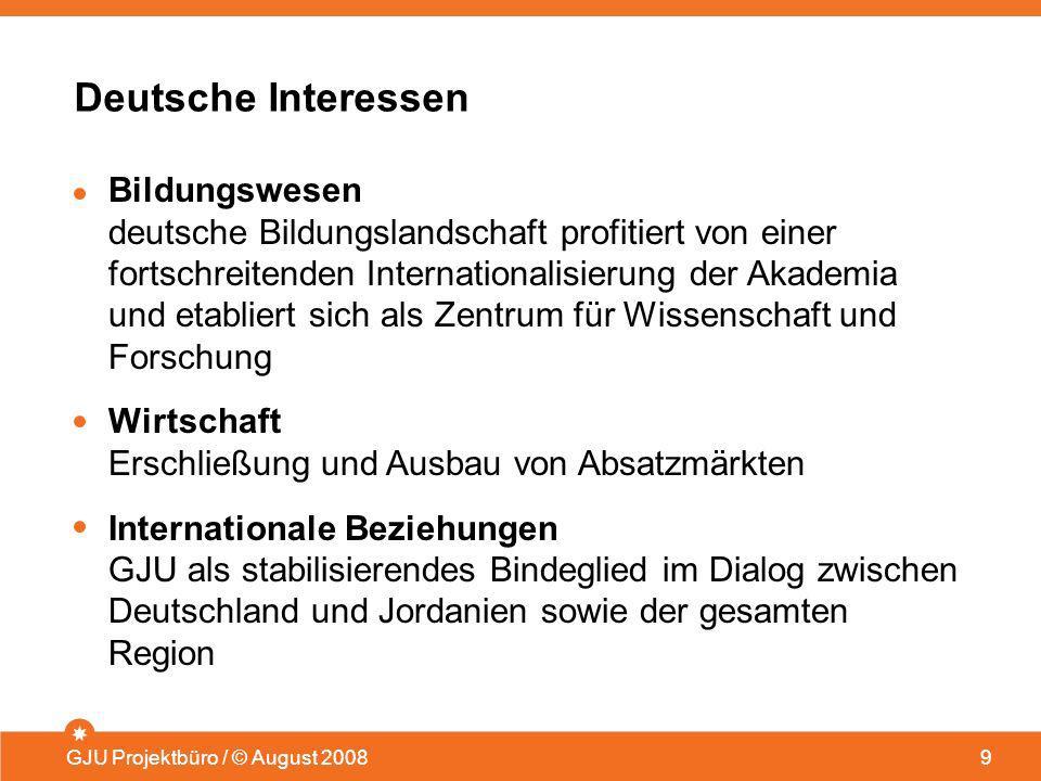 Deutsche Interessen Bildungswesen