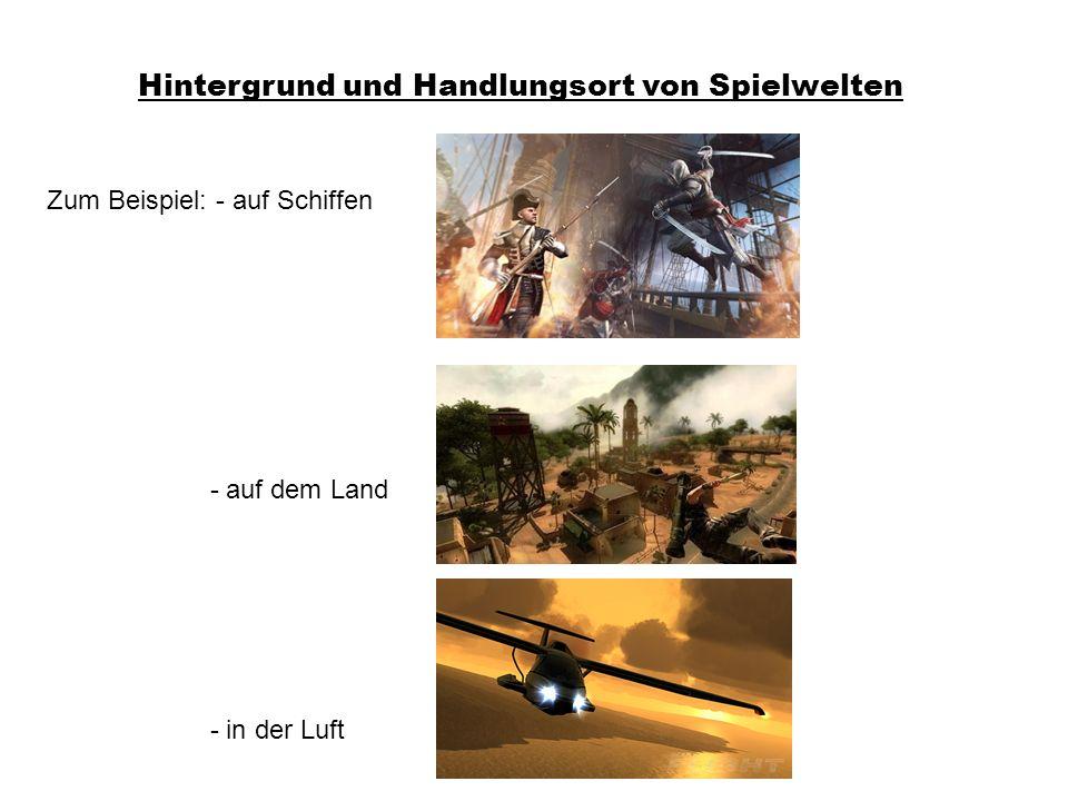 Hintergrund und Handlungsort von Spielwelten