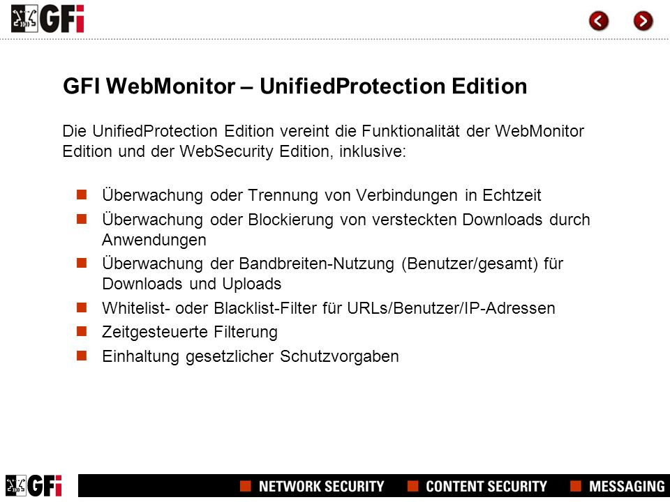 GFI WebMonitor – UnifiedProtection Edition