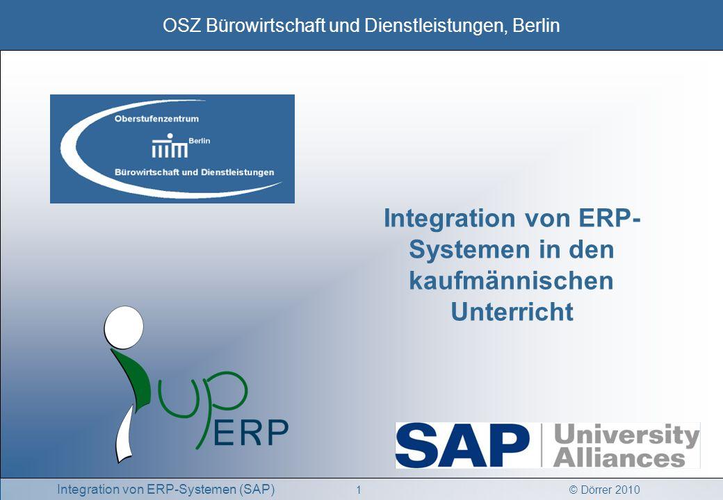 Integration von ERP-Systemen in den kaufmännischen Unterricht