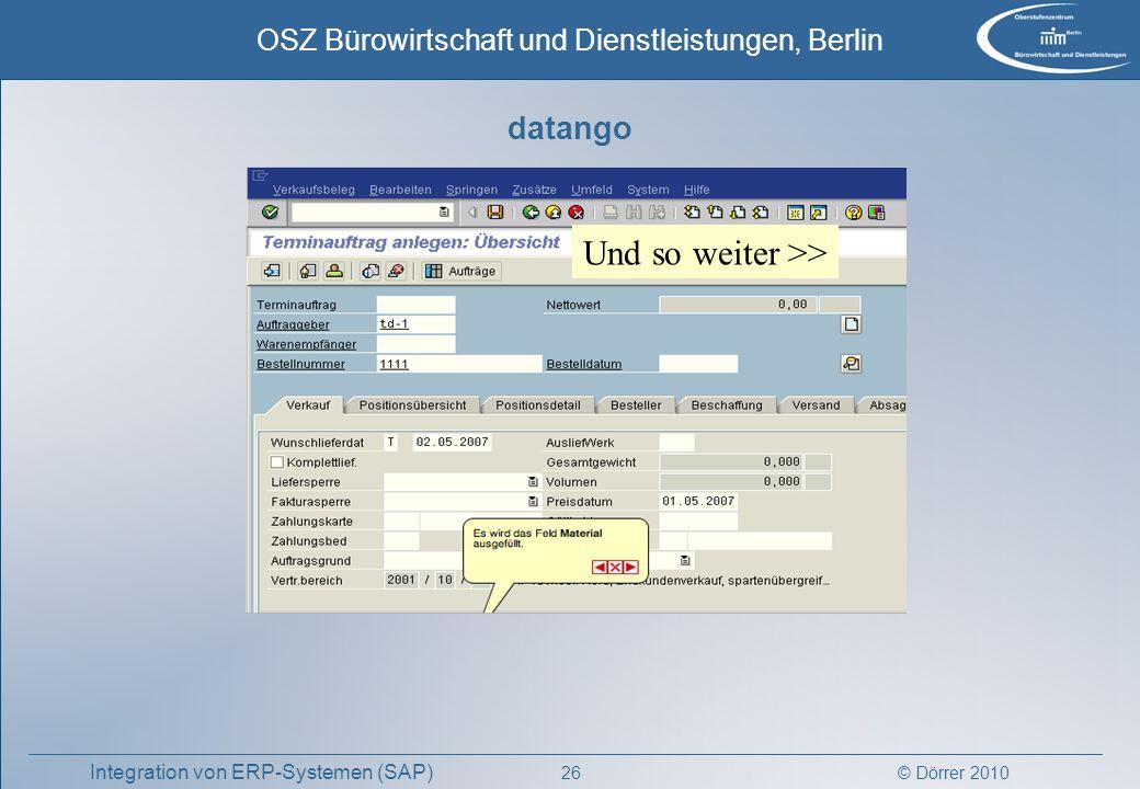 datango Und so weiter >>