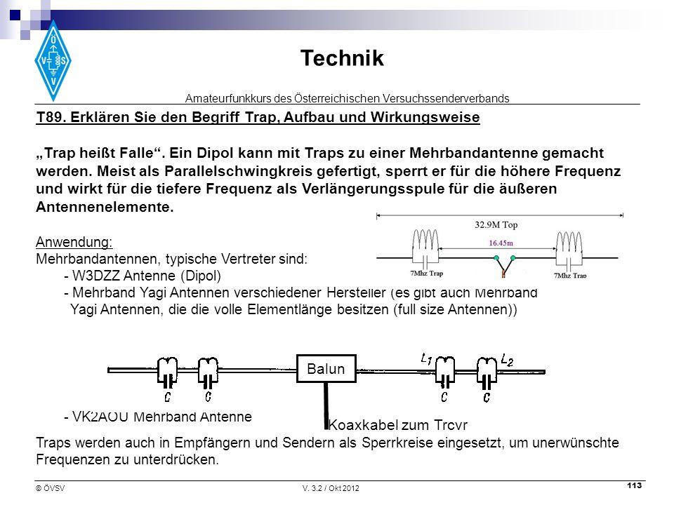 T89. Erklären Sie den Begriff Trap, Aufbau und Wirkungsweise