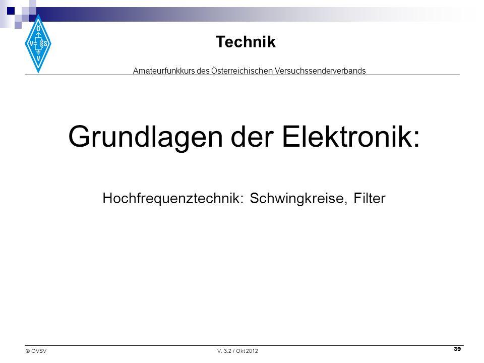 Grundlagen der Elektronik: