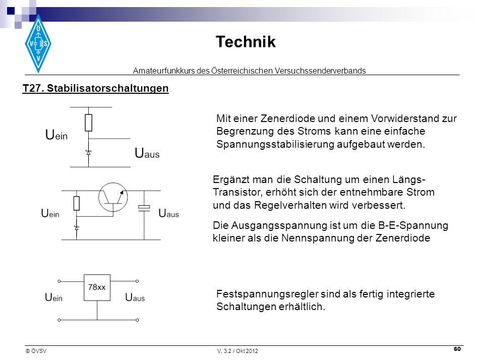 T27. Stabilisatorschaltungen