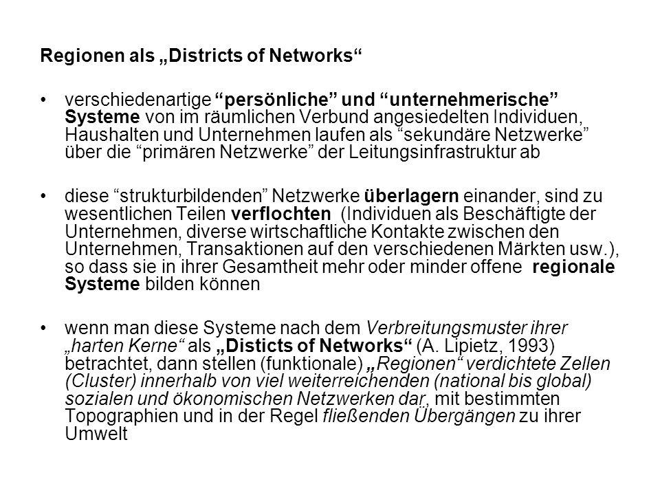 "Regionen als ""Districts of Networks"