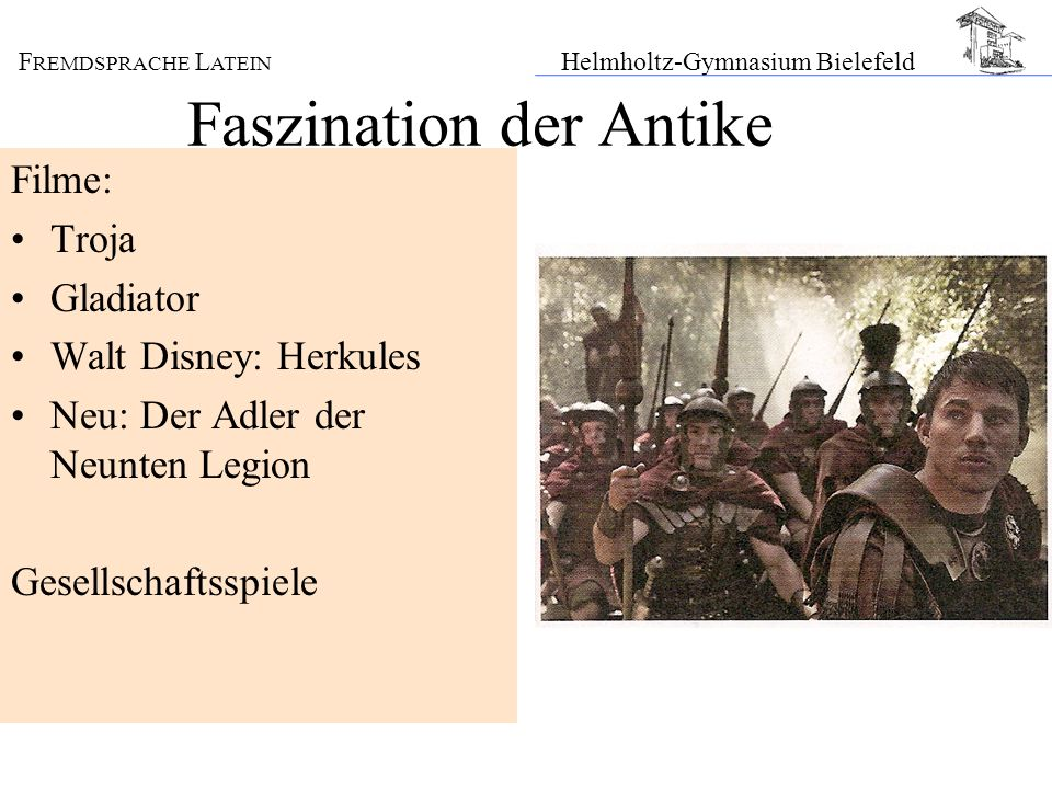 Faszination der Antike