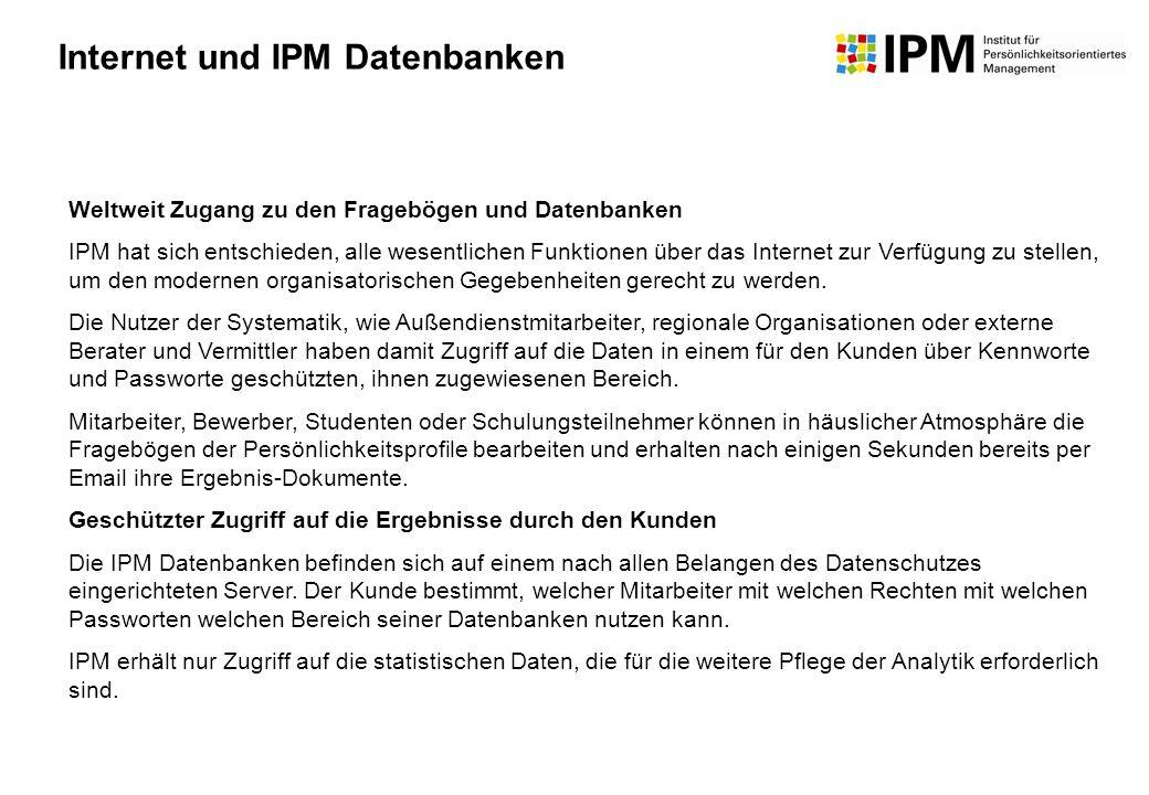 Internet und IPM Datenbanken