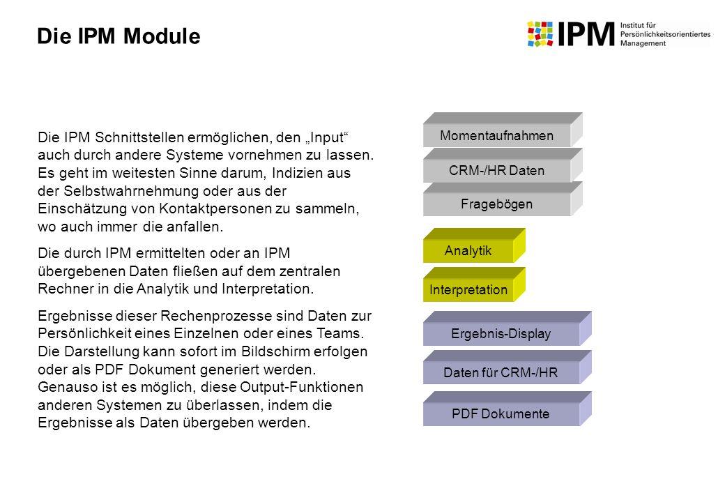 Die IPM Module