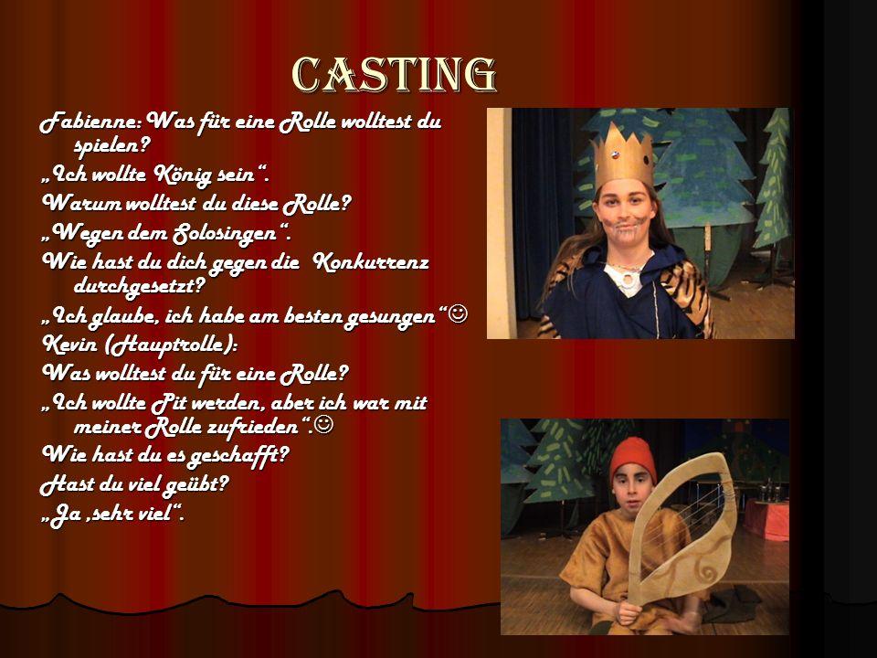 Casting Fabienne: Was für eine Rolle wolltest du spielen