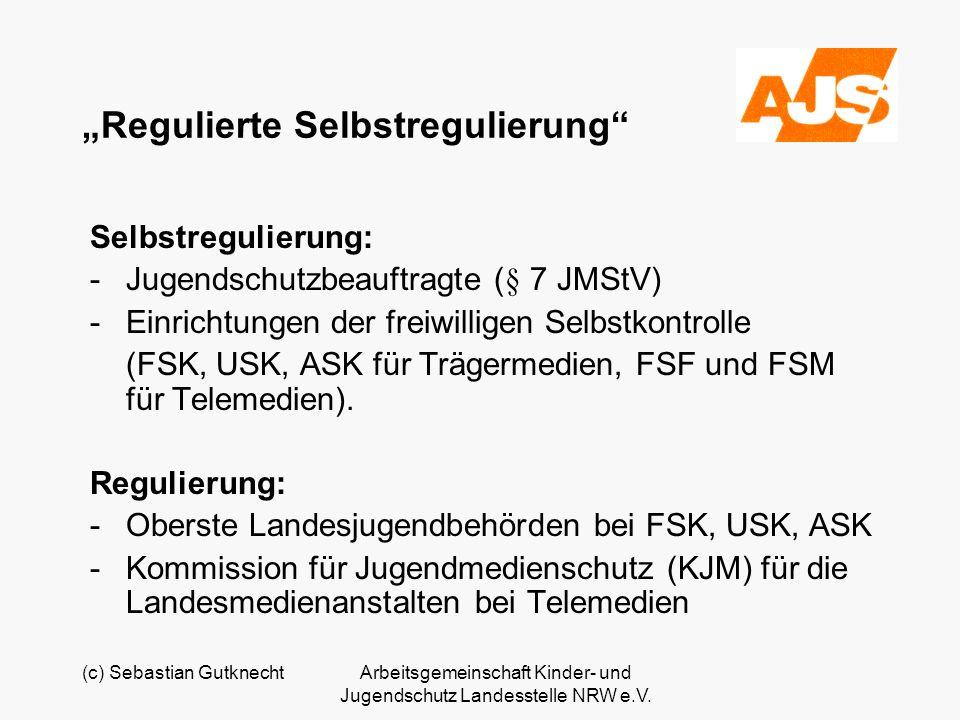 """""""Regulierte Selbstregulierung"""