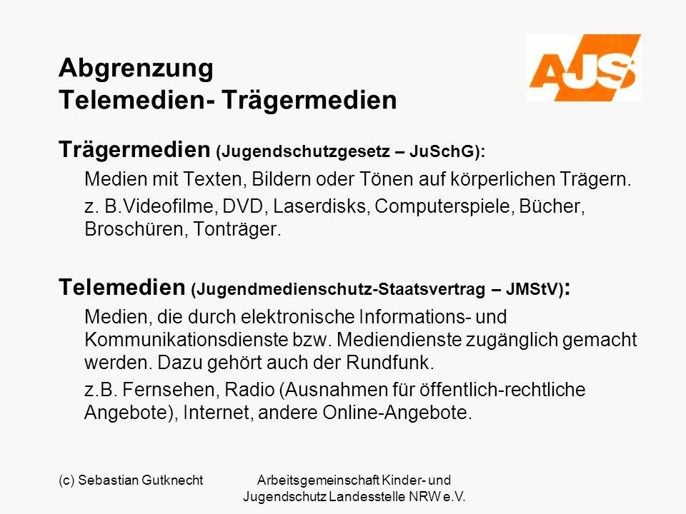 Abgrenzung Telemedien- Trägermedien