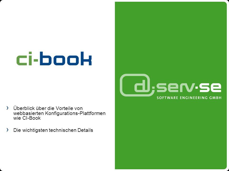 Überblick über die Vorteile von webbasierten Konfigurations-Plattformen wie CI-Book