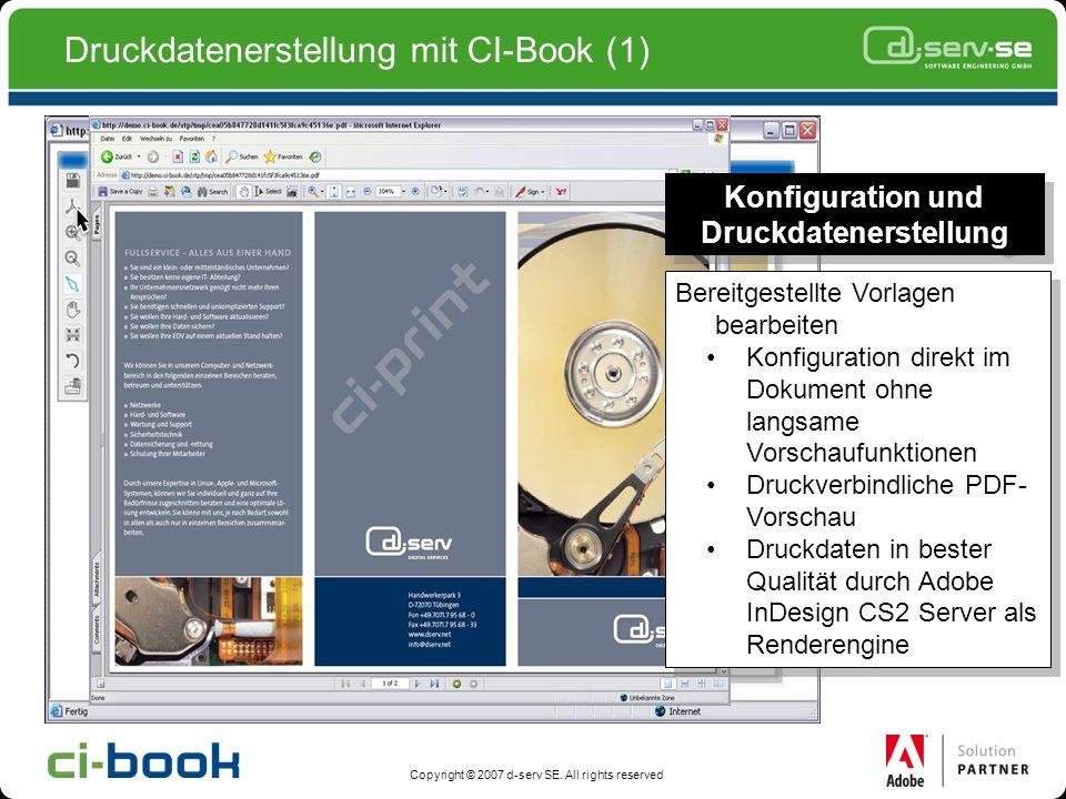 Druckdatenerstellung mit CI-Book (1)