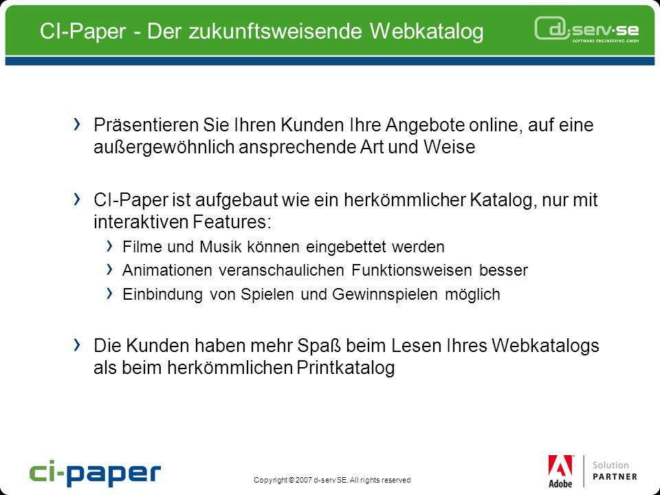 CI-Paper - Der zukunftsweisende Webkatalog