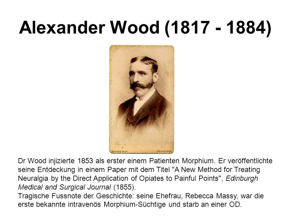 Alexander Wood (1817 - 1884)