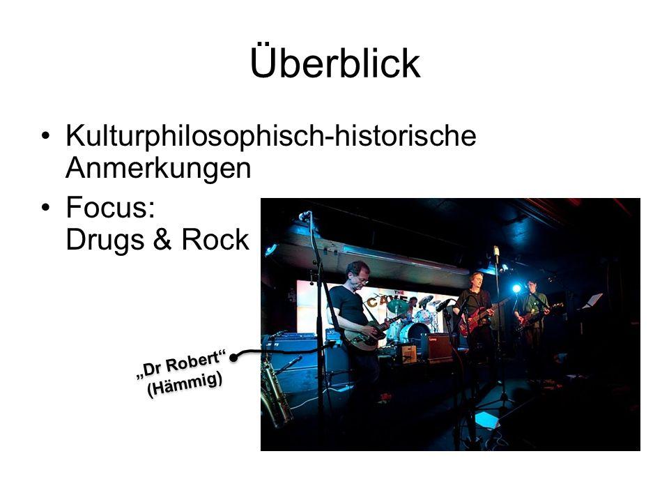 Überblick Kulturphilosophisch-historische Anmerkungen