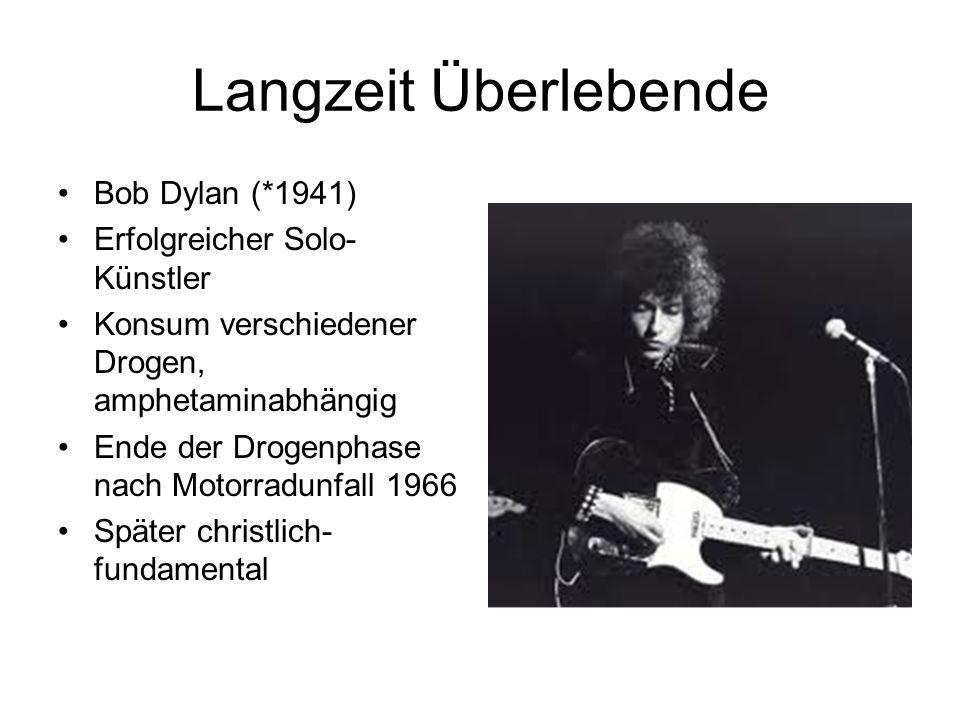 Langzeit Überlebende Bob Dylan (*1941) Erfolgreicher Solo-Künstler