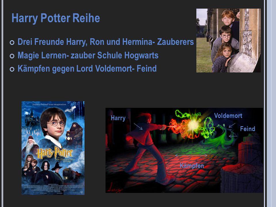 Harry Potter Reihe Drei Freunde Harry, Ron und Hermina- Zauberers