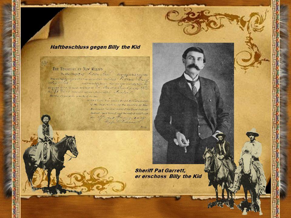 Haftbeschluss gegen Billy the Kid