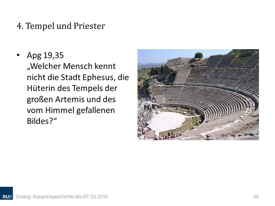 4. Tempel und Priester