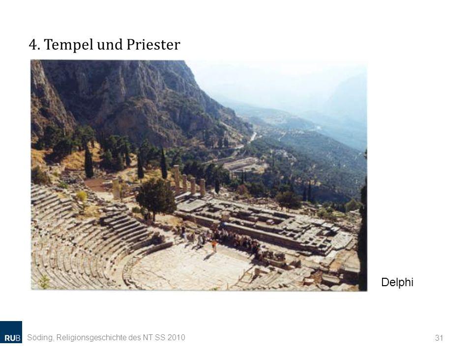 4. Tempel und Priester Delphi