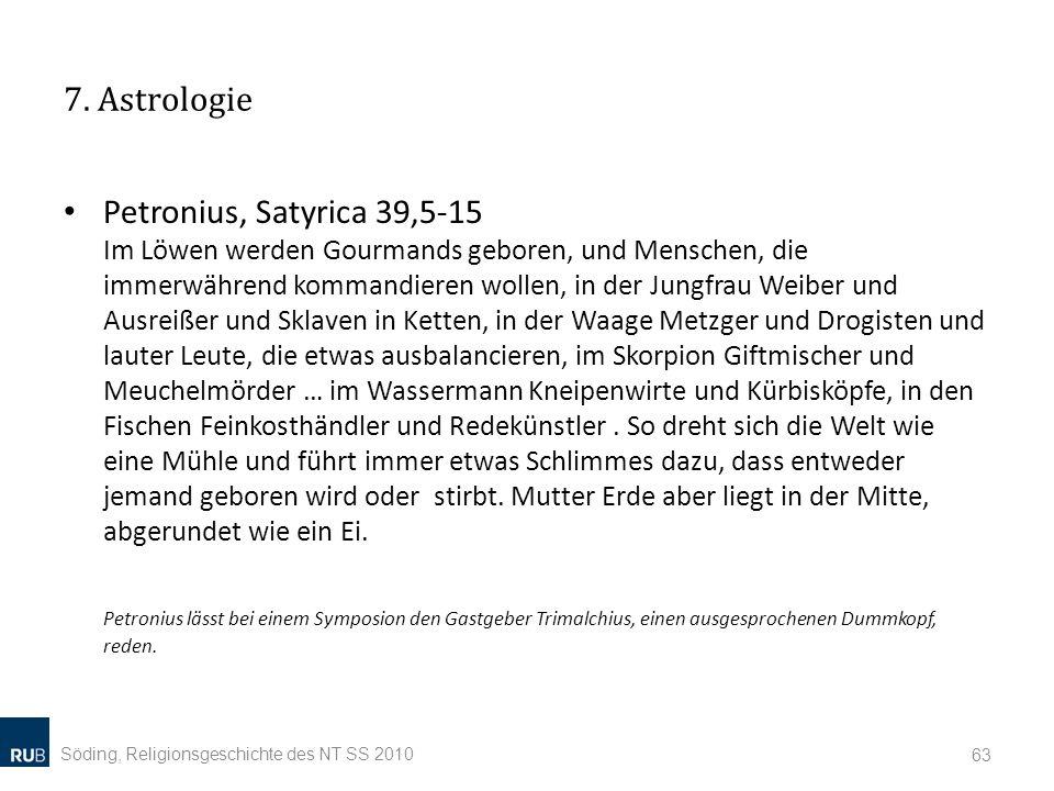 7. Astrologie