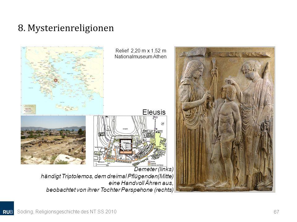 8. Mysterienreligionen Eleusis