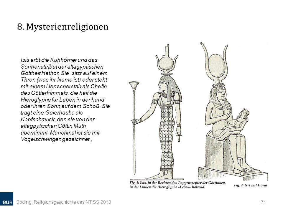 8. Mysterienreligionen