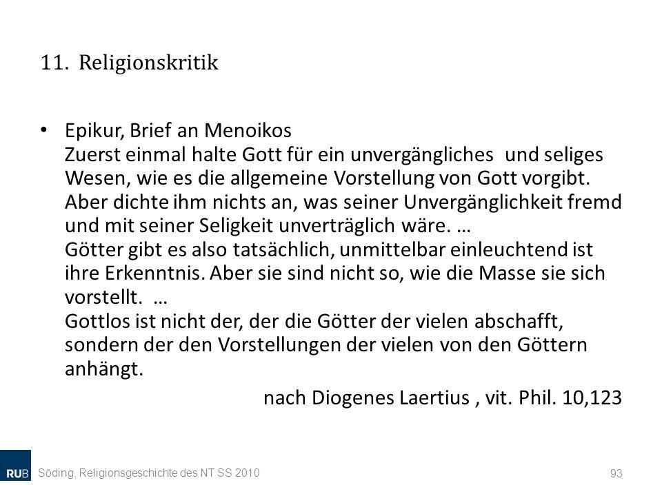 nach Diogenes Laertius , vit. Phil. 10,123
