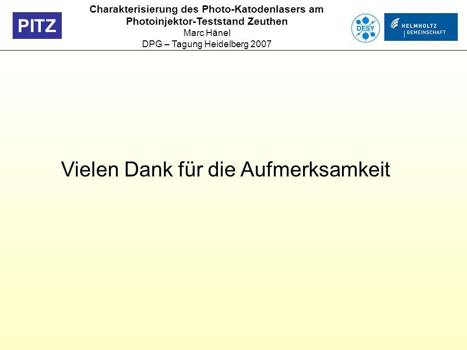 DPG – Tagung Heidelberg 2007