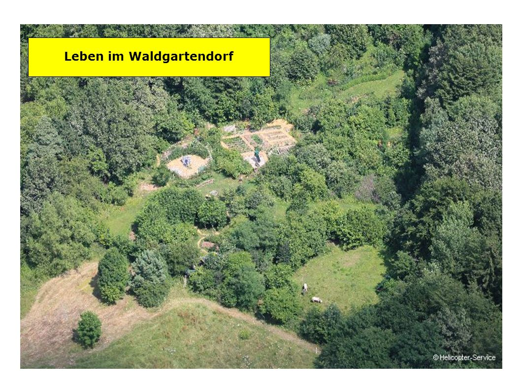 Leben im Waldgartendorf