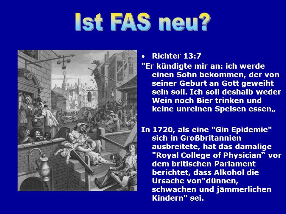 Ist FAS neu Richter 13:7.