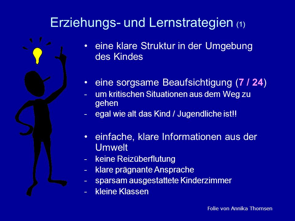 Erziehungs- und Lernstrategien (1)