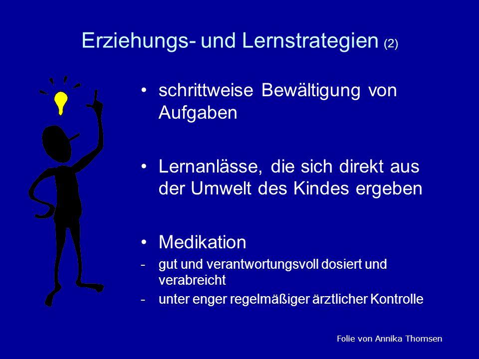 Erziehungs- und Lernstrategien (2)