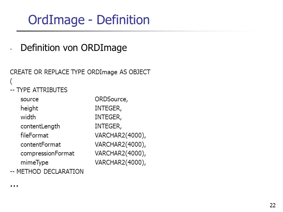 OrdImage - Definition Definition von ORDImage ...