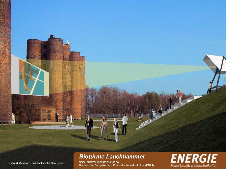 Biotürme Lauchhammer www.lausitzer-industriekultur.de