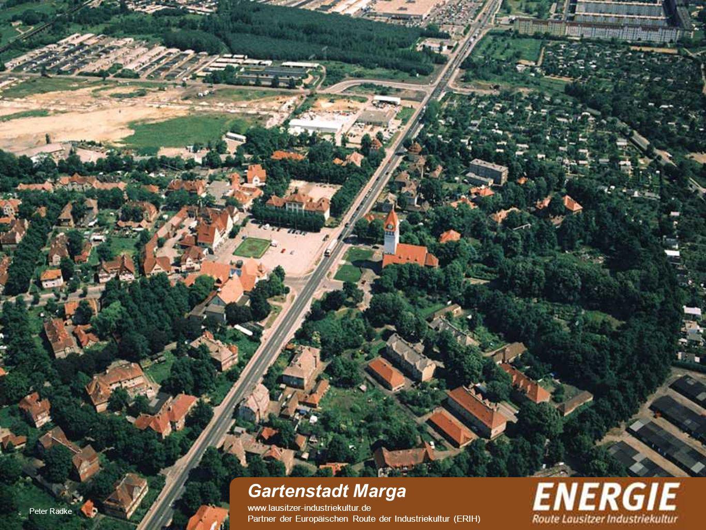 Gartenstadt Marga www.lausitzer-industriekultur.de