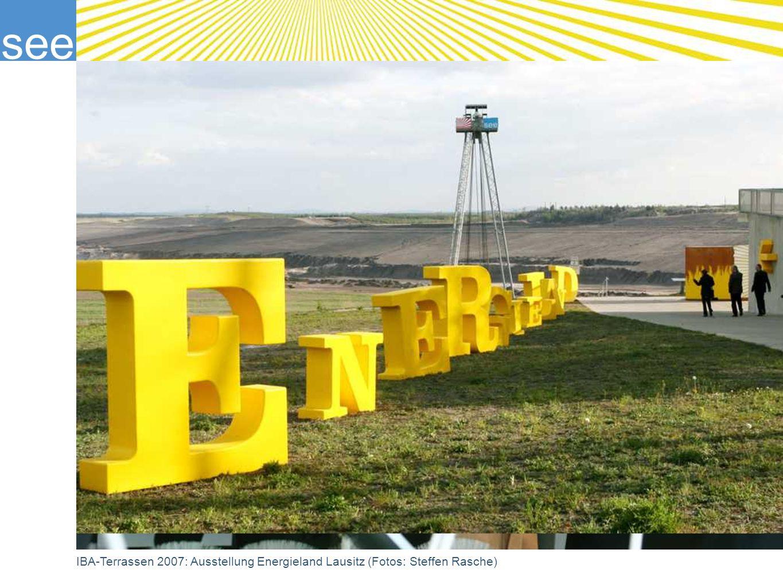 IBA-Terrassen 2007: Ausstellung Energieland Lausitz (Fotos: Steffen Rasche)