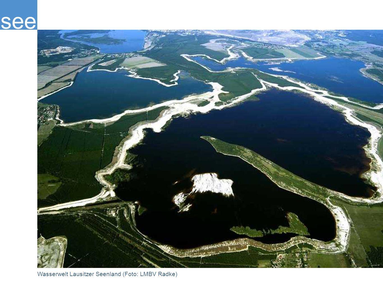 Wasserwelt Lausitzer Seenland (Foto: LMBV Radke)