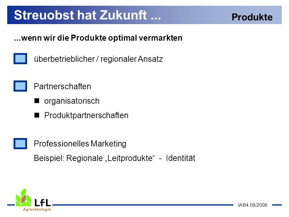 Streuobst hat Zukunft ... Produkte