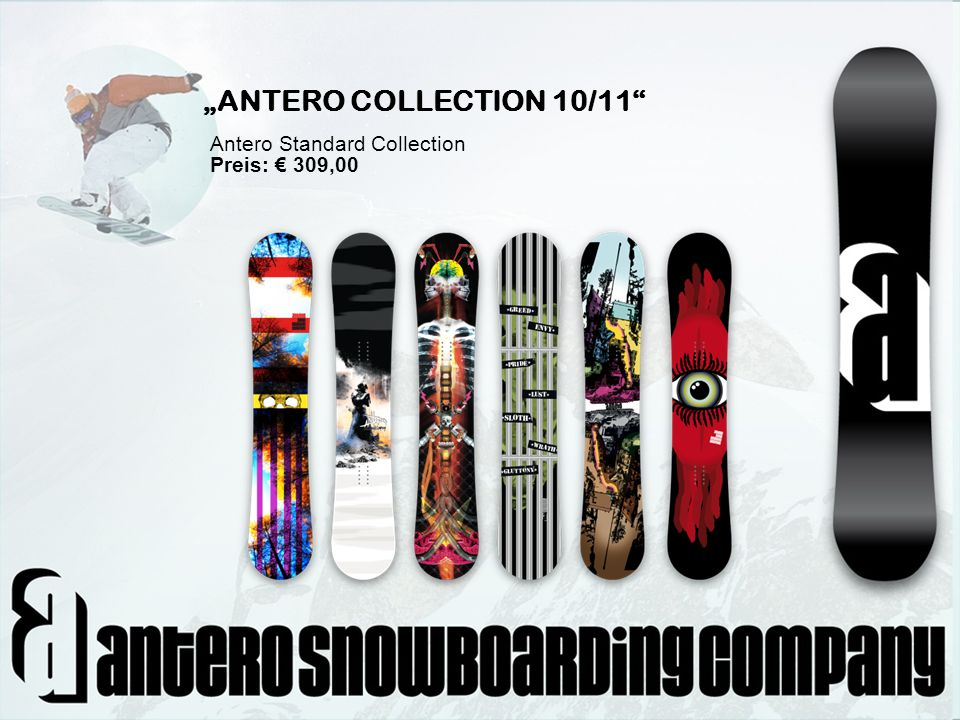 """ANTERO COLLECTION 10/11 Antero Standard Collection Preis: € 309,00"