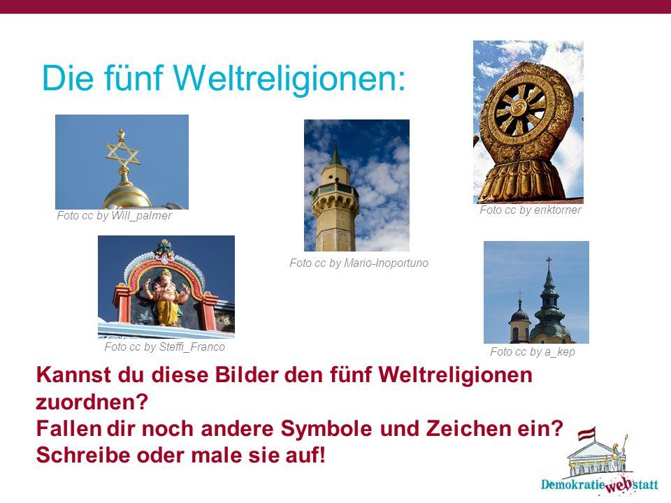Die fünf Weltreligionen:
