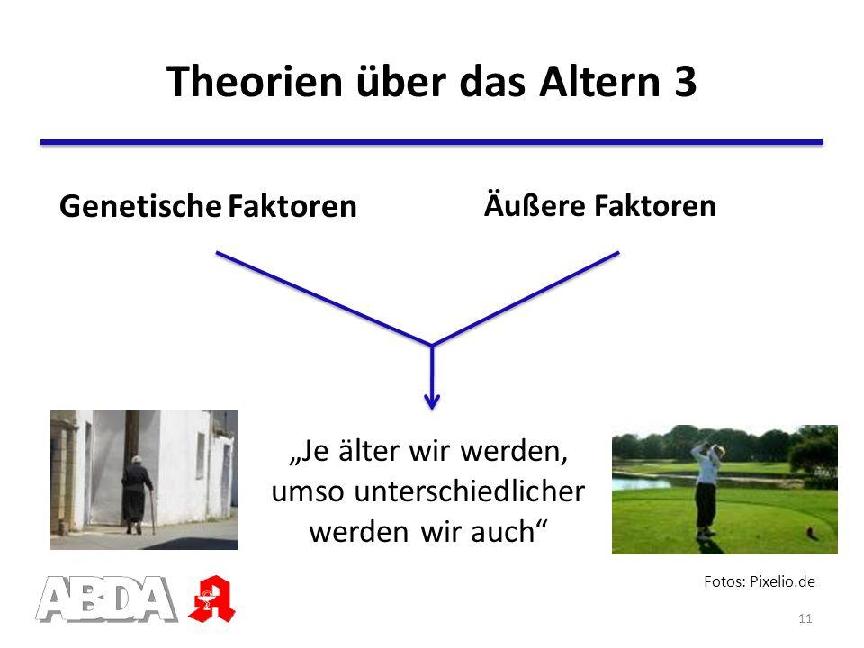 Theorien über das Altern 3
