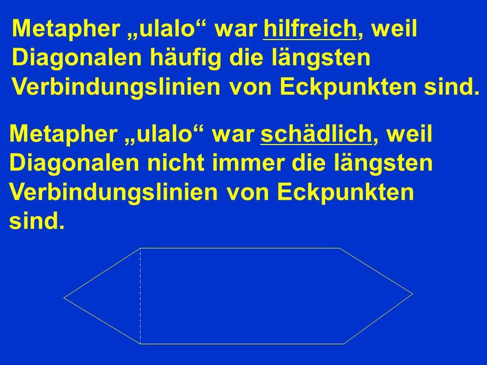 """Metapher """"ulalo war hilfreich, weil"""