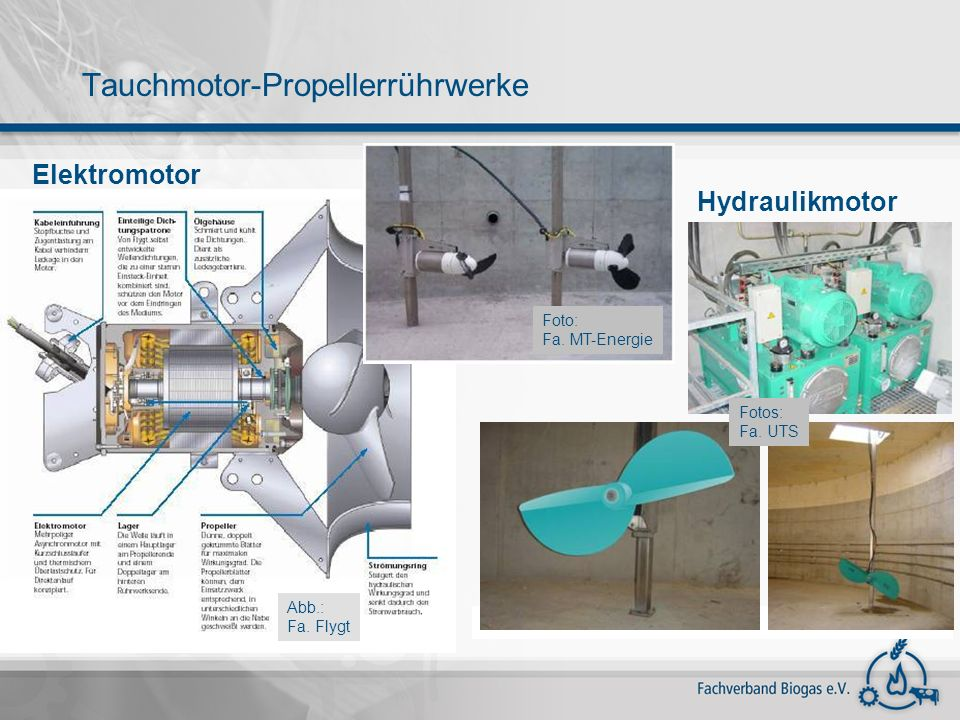 Tauchmotor-Propellerrührwerke