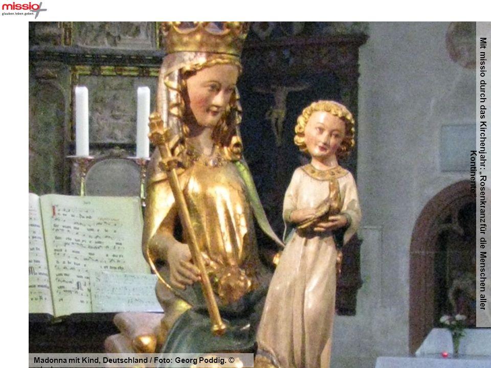 """Mit missio durch das Kirchenjahr: """"Rosenkranz für die Menschen aller Kontinente"""