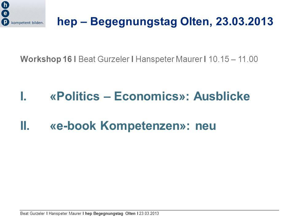 hep – Begegnungstag Olten, 23.03.2013