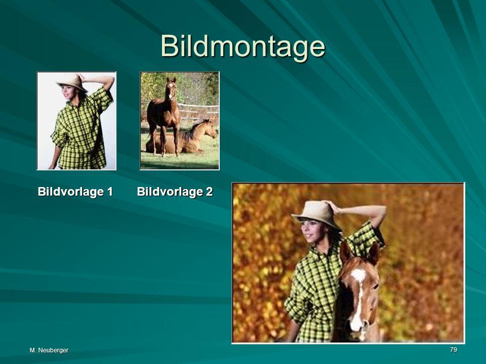 Bildmontage Bildvorlage 1.