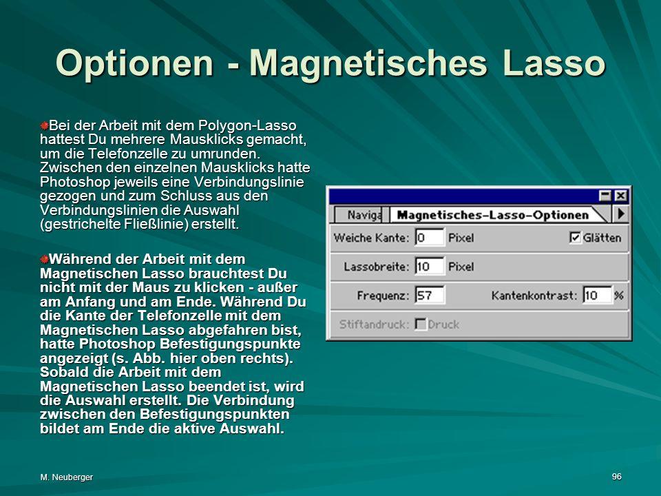 Optionen - Magnetisches Lasso