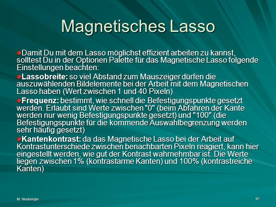 Magnetisches Lasso